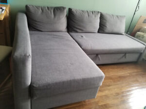Sectional sofa (sofa-bed) with storage