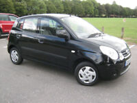 2009 58 REG Kia Picanto 1.0 Picanto 5 DOOR CHEAP ROAD TAX £30