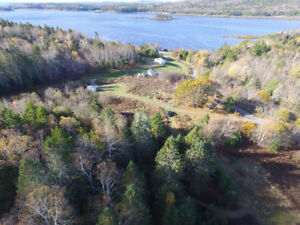 50 Acres Waterview/Waterfront- Digdeguash NB- Near St George & S