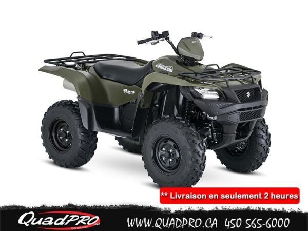 Used 2016 Suzuki KINGQUAD 750AXI POWER STEERING