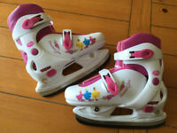 Patins PRINCESSES ajustable J12-2 PRINCESS adjustable ice skates