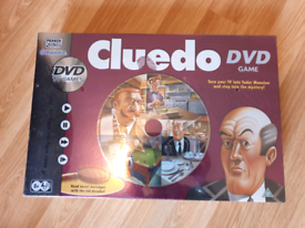 Cluedo game with DVD