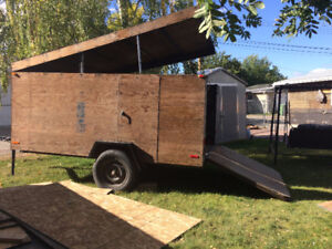 Enclosed ATV Utility Trailer