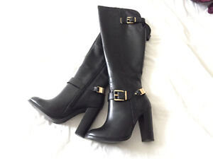 Leather Aldo boots Great Condition!