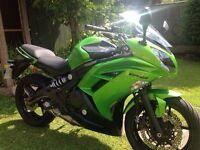 Kawasaki er6f beautiful condition