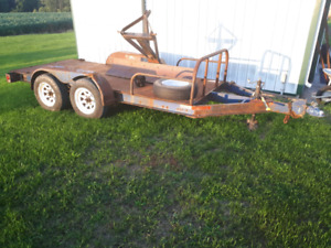 12' tandem axle trailer for sale