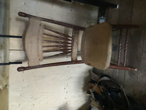 Chair and rocker