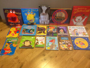 Assortment of Pre-School Age Kids Books