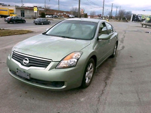 Nissan altima 2007 2.5 cylinder with low km!!!!