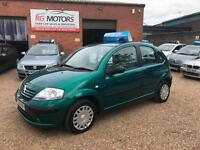 2004 Citroen C3 1.4i Desire Green 5dr Hatch, **ANY PX WELCOME**