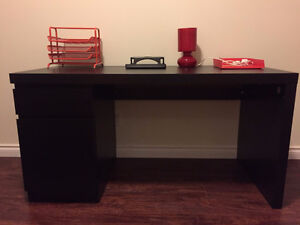 As new ikea desk with free accessories