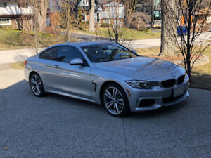 2014 BMW 435i m-sport coupe lease takeover: 17 months remaining
