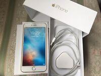 Apple iPhone 6 Plus 16gb silver white UNLOCKED