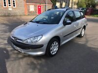Peugeot 206 1.4 SW - Only 58,000 Miles