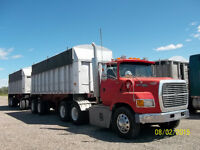 Day cabs with wet kits + aluminum end dump 27'+26'+24'+22' or36'