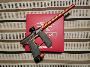 Empire Mini GS Paintball Gun Dust Grey/Orange