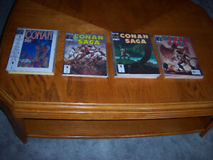35 conan saga magazines  1 to 35