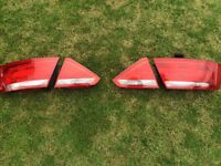 Audi A5 coupe rear tail lights 2008-2011