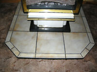 Free Standing Fireplace  Hearth Pad (Tiled,stove,base,pad)