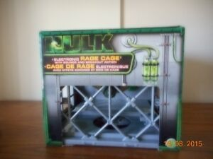 The Incredible Hulk 2003 Electronic Rage Cage Sounds & Breakout Kingston Kingston Area image 6