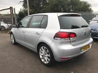 VW GOLF 2.0 GT TDI 140 6 SPEED CRUISE 5 DOOR 2009 / FSH / 12 MONTHS MOT