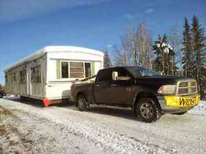 Heated, insulated mobile home shell