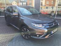2016 Mitsubishi Outlander PHEV GX 5HS PETROL/ELECTRIC brown Semi Auto