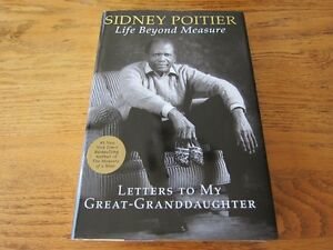 """Life Beyond Measure"" by Sidney Poitier - Brand New Hardcover!"