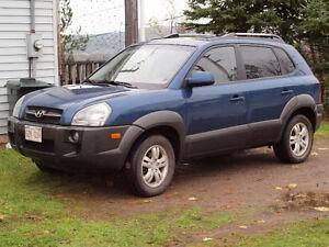 Hyundai Tuscon 4x4 LTD