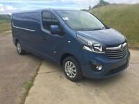 2018 Vauxhall Vivaro L2h1 1.6cdti Sportive Panel Van