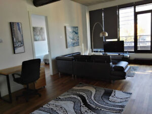 Fully furnished 1 bedroom next to Old Port!