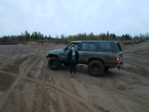 1986 Toyota 4 runner project truck