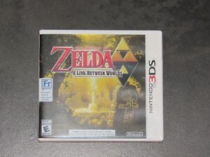Nintendo 3DS Legend of Zelda A Link Between Worlds game Regina Regina Area image 1