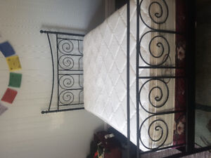 **URGENT SALE** Double mattress, matching bed box and bed frame