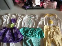 Entire baby girl wardrobe (6-9 months)