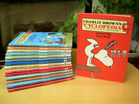 Vintage Charlie Brown Encyclopedia Set - Complete 1-15