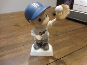 Precious Moments LA Dodger Boy MLB Baseball Figure
