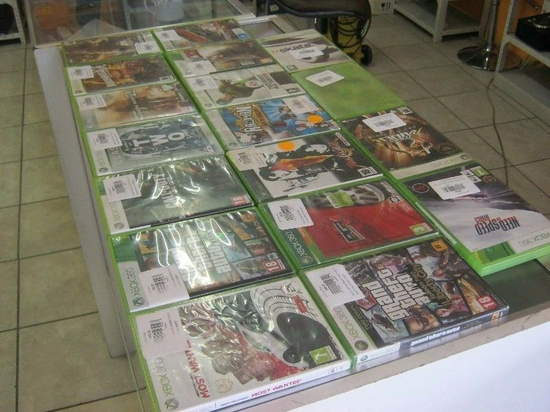 X BOX 360 GAMES FOR SELL