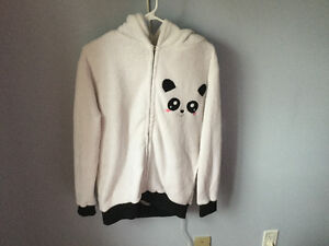 Winter sweater panda-styled