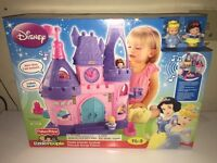 Brand new- little people princess castle