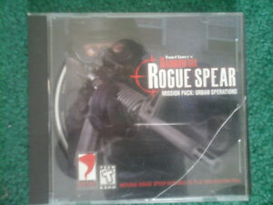 RAINBOW SIX ROGUE SPEAR COMPUTER GAME
