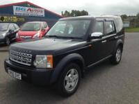 05 LAND ROVER DISCOVERY 3 S 2.7 TD AUTO 7 SEATER BLACK