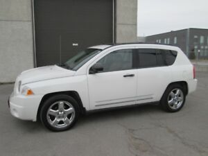 JEEP COMPASS LIMITED 2009 AWD 4X4 - CUIR TOIT GPS MAGS**