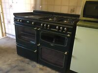 Dual Fuel Gas and Electric Range Cooker