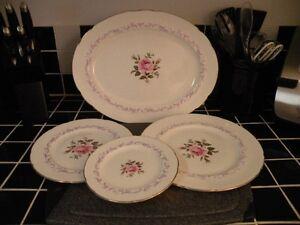 Set of Paragon Fine China - Century Rose pattern