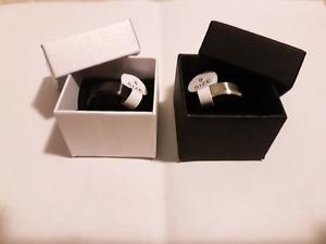 Titanium ring brand new