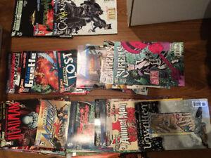 DC comics Marvels
