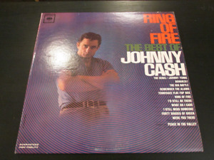 Ring of Fire the best of Johnny Cash on vinyl