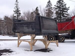 12 foot, 8 foot and 6 foot dump boxes