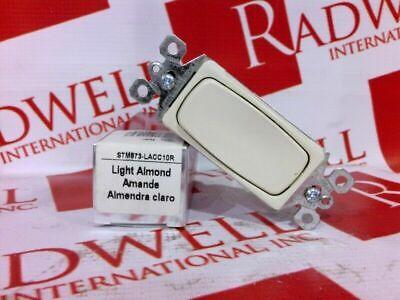 Legrand 3 Way 15amp Switch Light Almond Stm873-lacc10r Stm873lacc10r